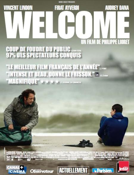 l'affiche du film welcome